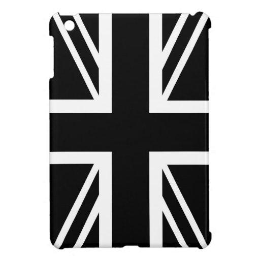 BLack & White Classic Union Jack British(UK) Flag iPad ...