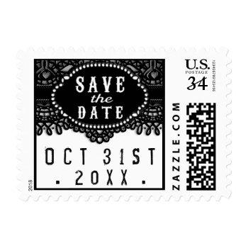Halloween Wedding Postage   Julie Alvarez Designs