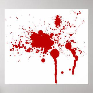 dexter blood splatter poster - photo #12