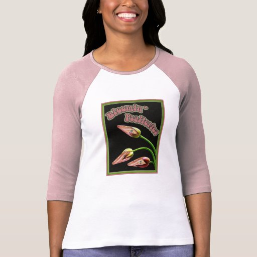 Bloomin' Psalteries Ladies Raglan T-Shirt