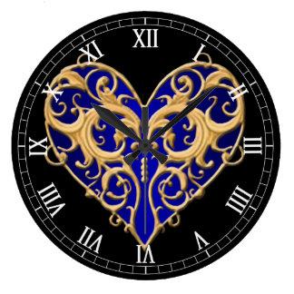Filigree Wall Clocks Zazzle