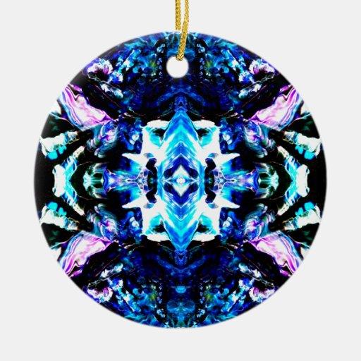 Blue Magic Purple Blue Turquoise Pretty Design Double