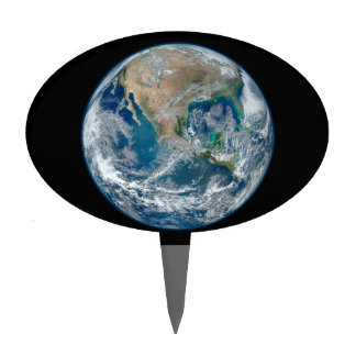 Planet Earth Cake Toppers | Zazzle