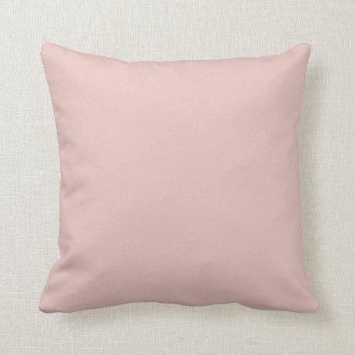 Blush Peachy Light Pink Solid Color Background Throw