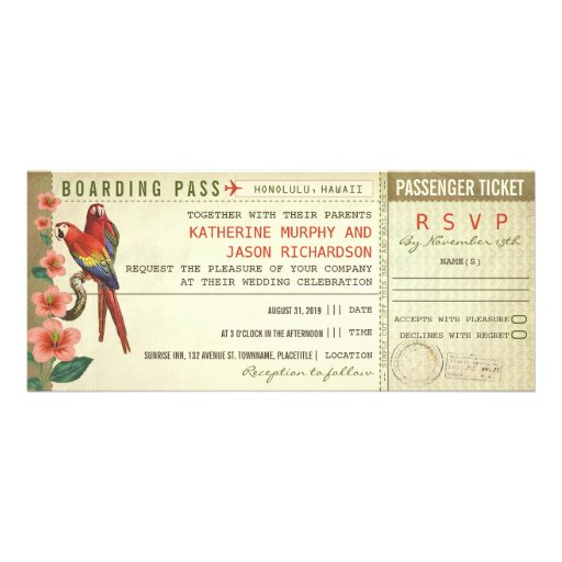 1,000+ Boarding Pass Invitations, Boarding Pass
