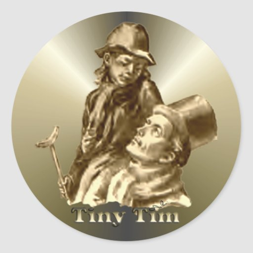 Tiny Tim A Christmas Carol: Bob Cratchit And Tiny Tim Christmas Carol Classic Round