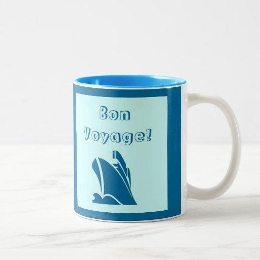 bon voyage cruise mug zazzle. Black Bedroom Furniture Sets. Home Design Ideas