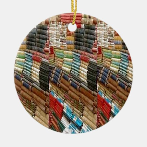 Vintage Library Due Date Cards Christmas Ornaments ... |Library Book Ornaments