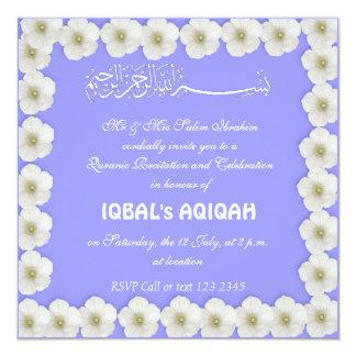 Invitation Card Aqiqah Invitation Card Aqiqah