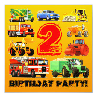 2nd Birthday Themes For Boys