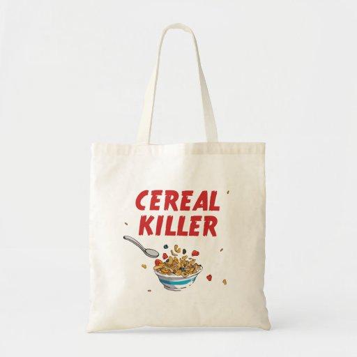 Breakfast Cereal Killer Tote Bag