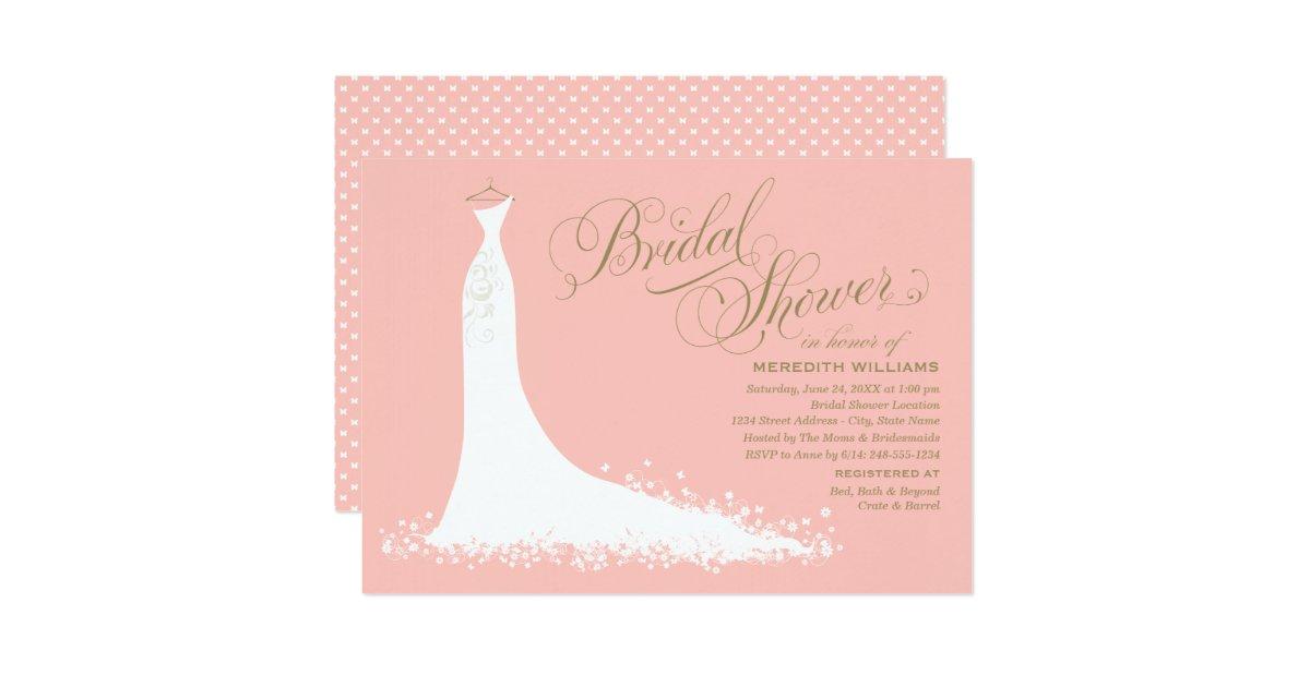 Wedding Shower Invitation: Bridal Shower Invitation
