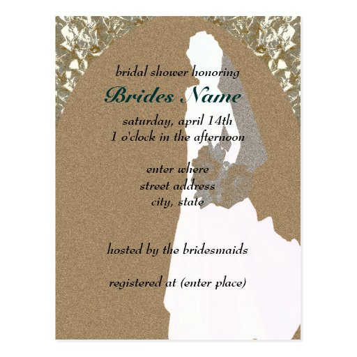 bridal shower postcard invitation template 28 images bridal