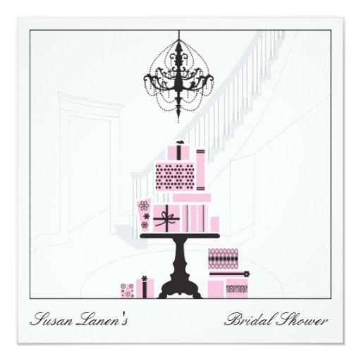 Wedding Gift Table: Bridal Shower Wedding Gift Table Invitation