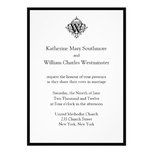 """Wedding Invitation Message From Bride And Groom: Bride And Groom Inviting Wedding Invitations 5"""" X 7"""
