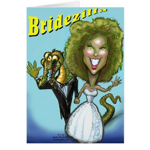Bridezilla Card