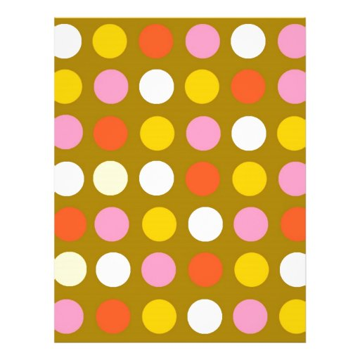 85+ Colorful Polka Dots Flyers, Colorful Polka Dots Flyer ...