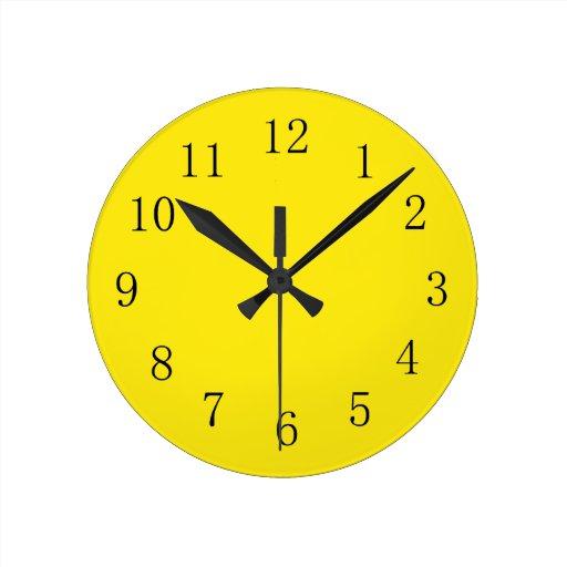 Lime Green Kitchen Wall Clocks