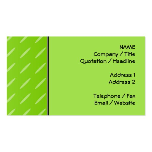 Business Cards Backgrounds Green