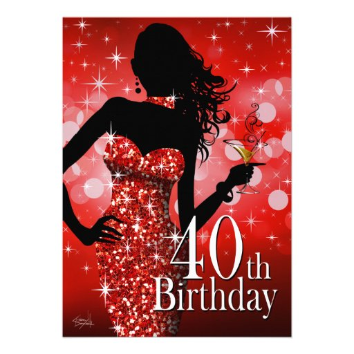 Fabulous And 40 Invitations, 800+ Fabulous And 40 ... - photo#25