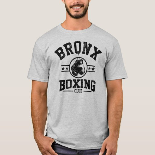 Bronx Boxing Club T Shirt Zazzle