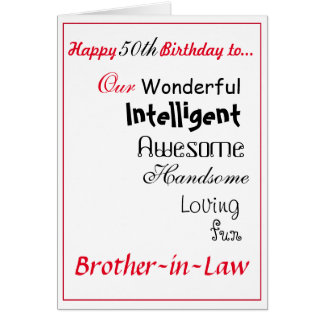 50th Birthday Gift Ideas For Brother