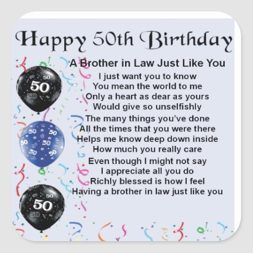 40th Birthday Ideas 50th Gift For Brother In Law