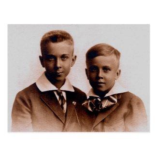 Brothers Henry & Palmer BURG, circa 1920
