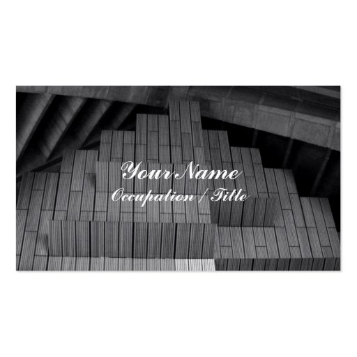 ... Business Cards and Building Block Business Card Templates | Zazzle