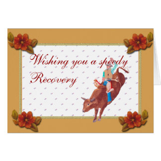 How to write a speedy recovery note