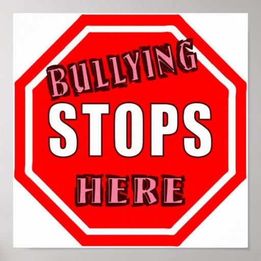 Stop Bullying Posters, Stop Bullying Prints, Art Prints ...