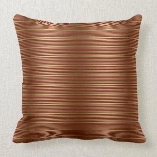 Burgundy Striped Pillows Decorative Amp Throw Pillows Zazzle