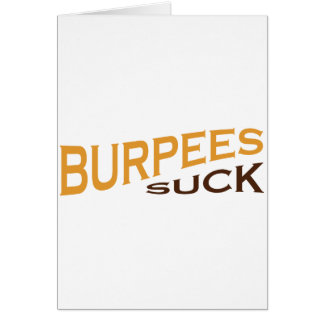 Burpees Ecard