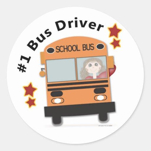 Bus Driver Stickers Zazzle