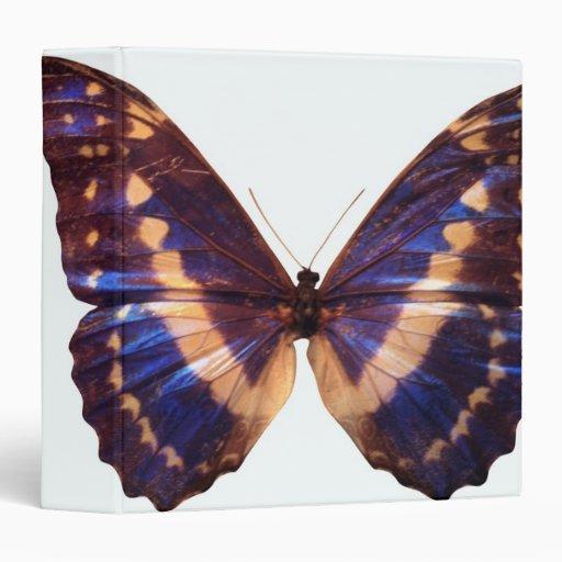 Butterfly With Wings Spread 3 Vinyl Binders