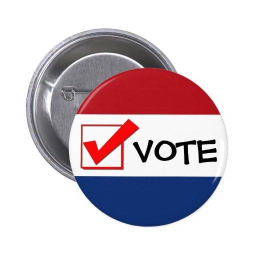 Vote Button - Personalise ItVote For Pedro Button