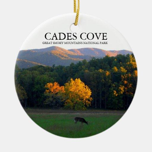 Cades Cove Deer Widlife Christmas Ornament Zazzle