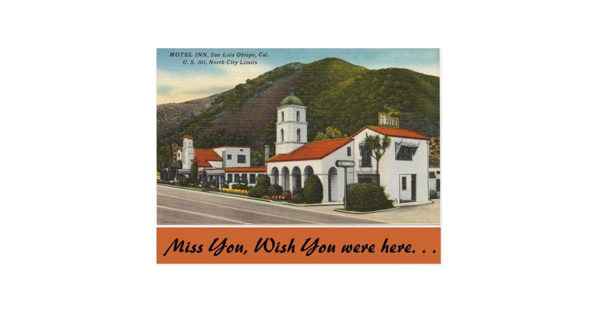 Motel Inn San Luis Obispo California