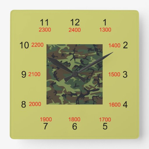Military Time Clock Face Www Proteckmachinery Com