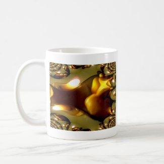 Candlelite Fractal Merchandise mug