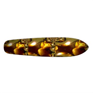 Candlelite Fractal Skateboard. skateboard