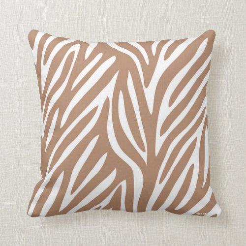 Peachy Brown Zebra Throw Pillows Brown Zebra Throw Pillows Uwap Interior Chair Design Uwaporg
