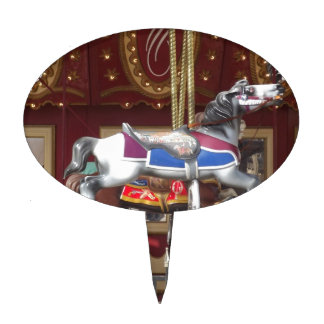 carousel cake toppers zazzle. Black Bedroom Furniture Sets. Home Design Ideas