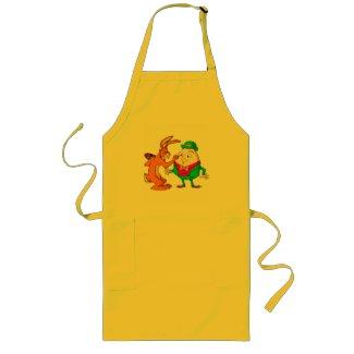 Cartoon Humpty Dumpty cooking apron apron