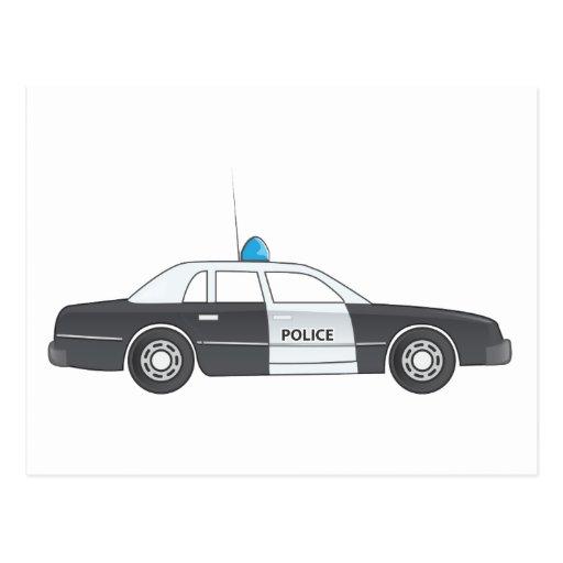 Cool Cartoon Cars Postcards & Postcard Template Designs