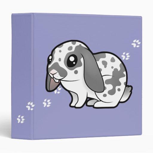 Cartoon Rabbit (floppy Ear Smooth Hair) Binders