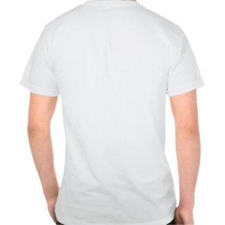 Cartoon Shark laughing (back) T-shirt shirt