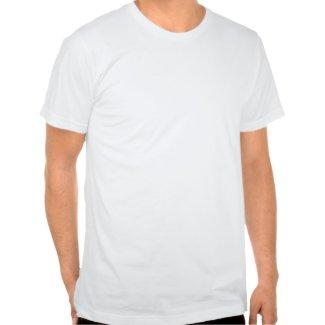 Cartoon Shark rolling back laughing T-shirt shirt