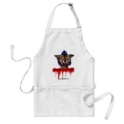 Chef Messy: CAUTION! MESSY CHEF AT WORK APRON! ADULT APRON