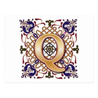 Celtic Letters P...Q Letter Design